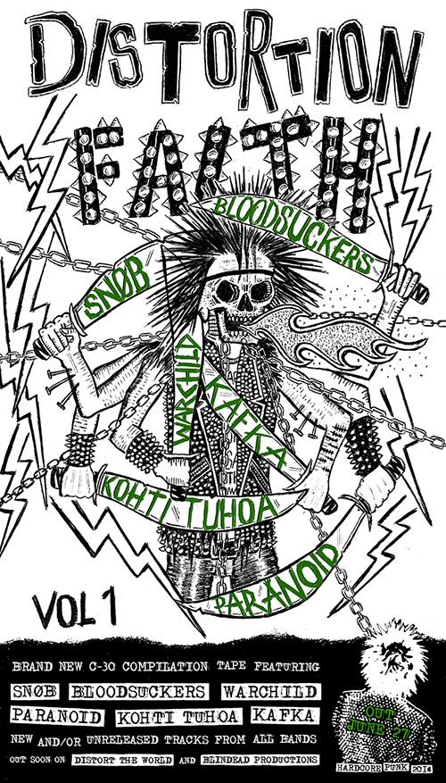 Distortion Faith vol.1 tape