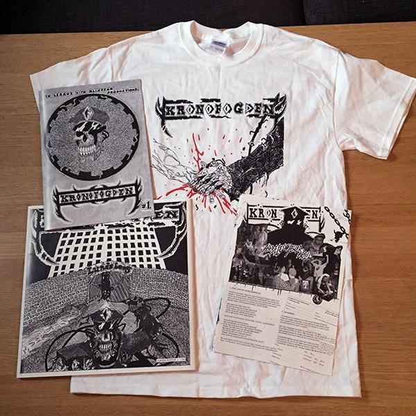 Kronofogden - Arbete och/eller fritid LP limited edition + t-shirt bundle