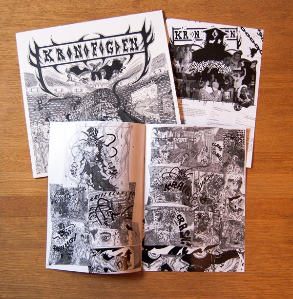 Kronofogden - Arbete och/eller fritid LP regular version