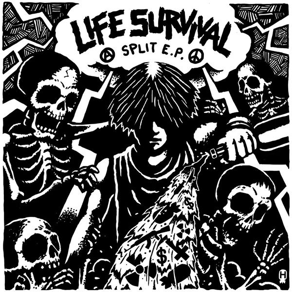 Life / Instinct of Survival - split 7""