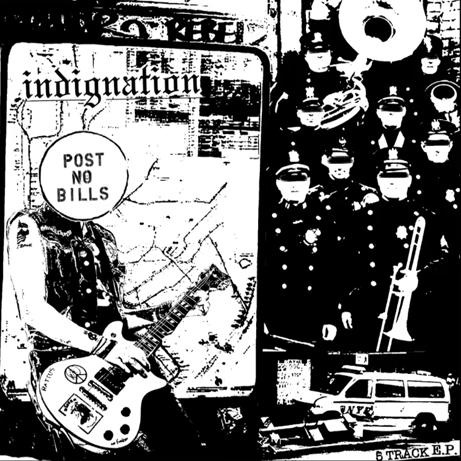 Indignation - 5 Track EP